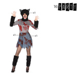 Costume for Adults Red wolf (3 Pcs)