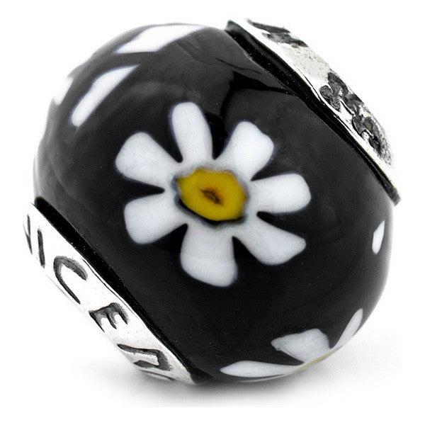 Beads Viceroy VMB0038-25 Black White Yellow (1 Cm)
