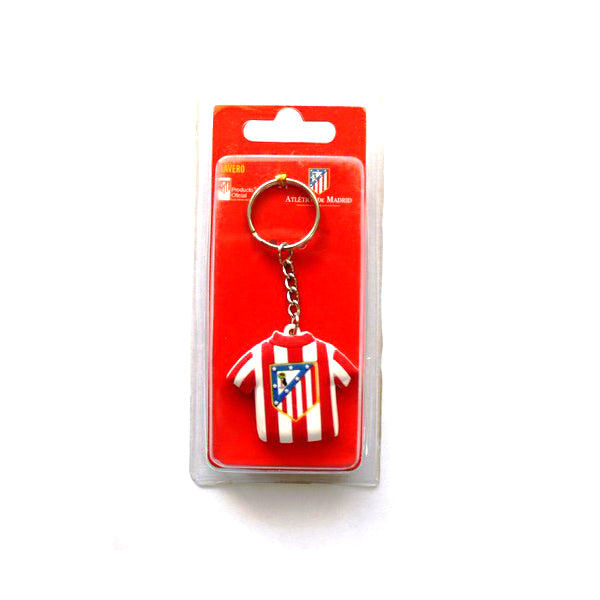Keychain Atlético Madrid 20427 Red White