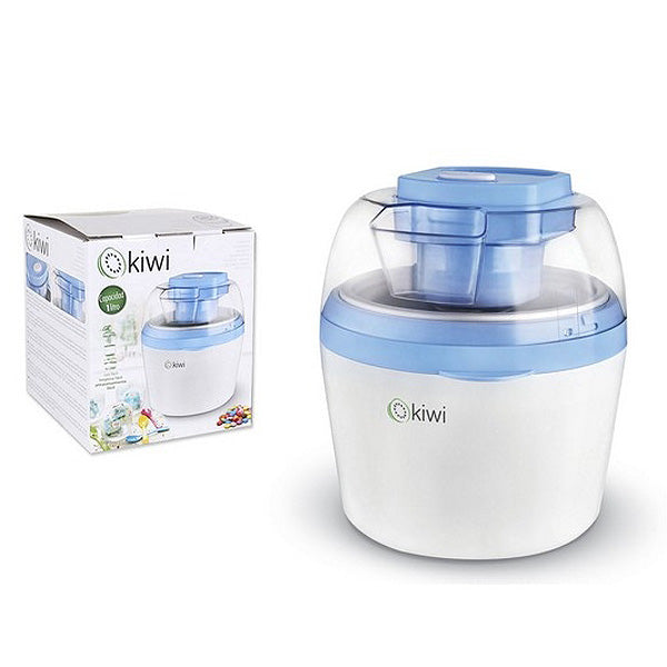 Ice Cream Maker Kiwi KIM-4703 1 L 12W White