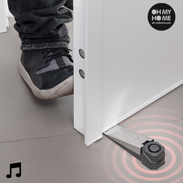 Oh My Home Door Stop Alarm with Contact Sensor
