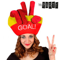 Th3 Party Spanish Flag Cap with Fingers