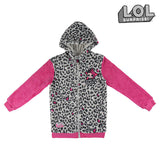 Hooded Sweatshirt for Girls LOL Surprise! 74834 Grey Pink