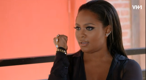 Teairra Mari wearing the Florence handchain on VH1's Love and Hip-Hop Hollywood