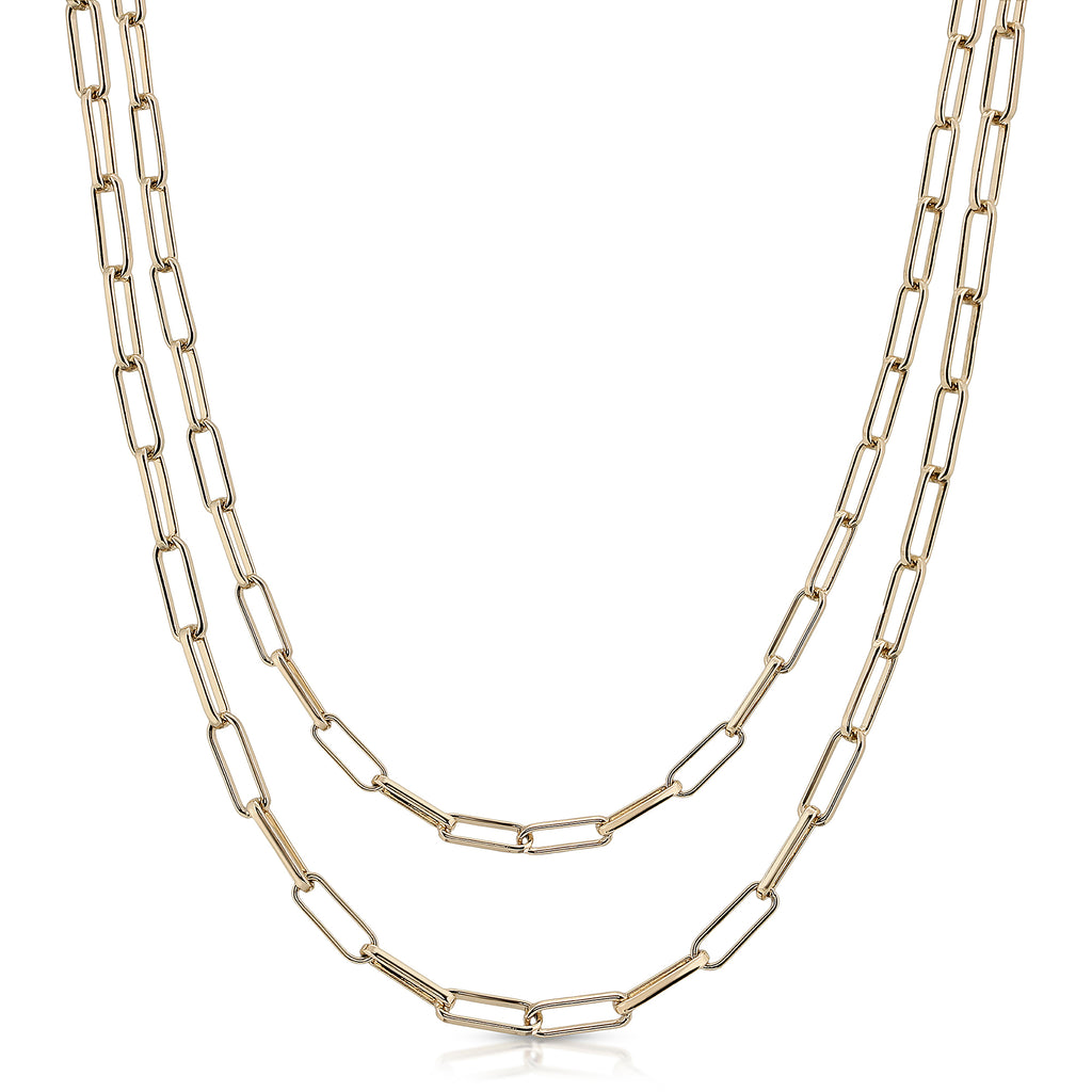 Double Elongated Link Mask Chain