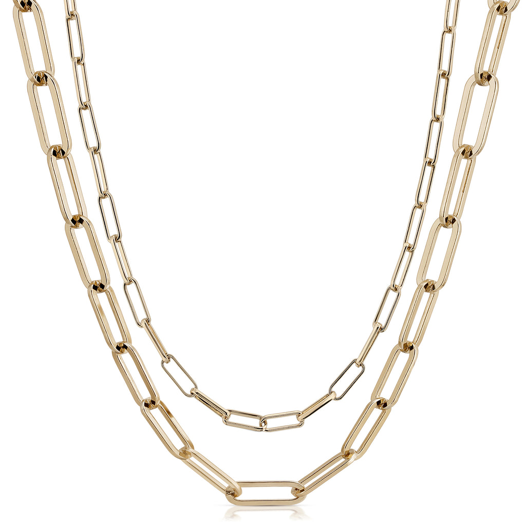 Double Elongated & Large Elongated Link Mask Chain