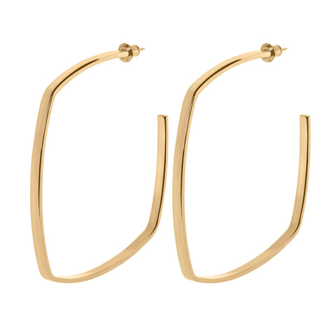 SQUARE SHAPED HOOPS