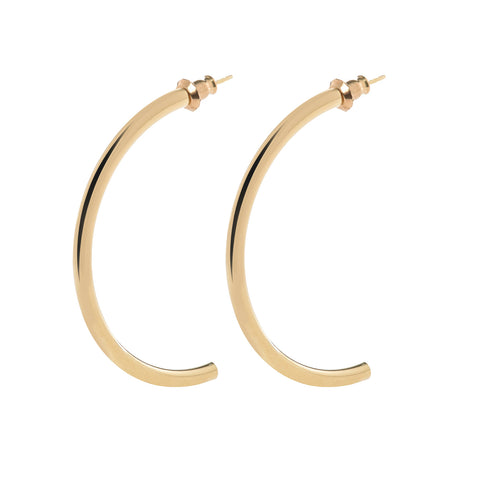 MEDIUM 1/2 BLAIRE HOOPS