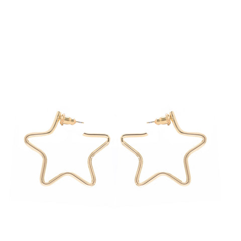 Small Full Star Earrings