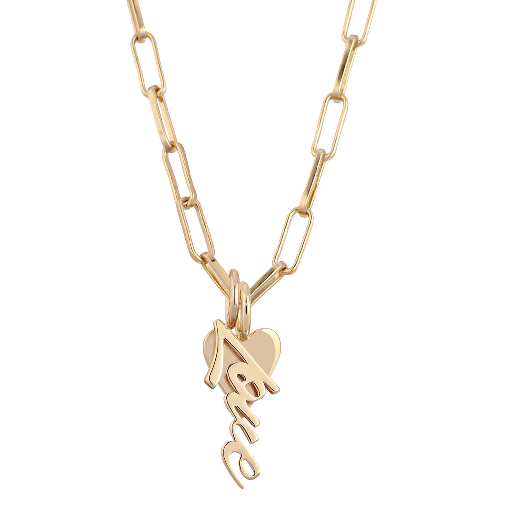 LAIRA CHARM NECKLACE