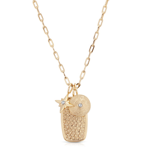 Caitlin Charm Necklace
