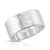 9.5MM Hammered Ring