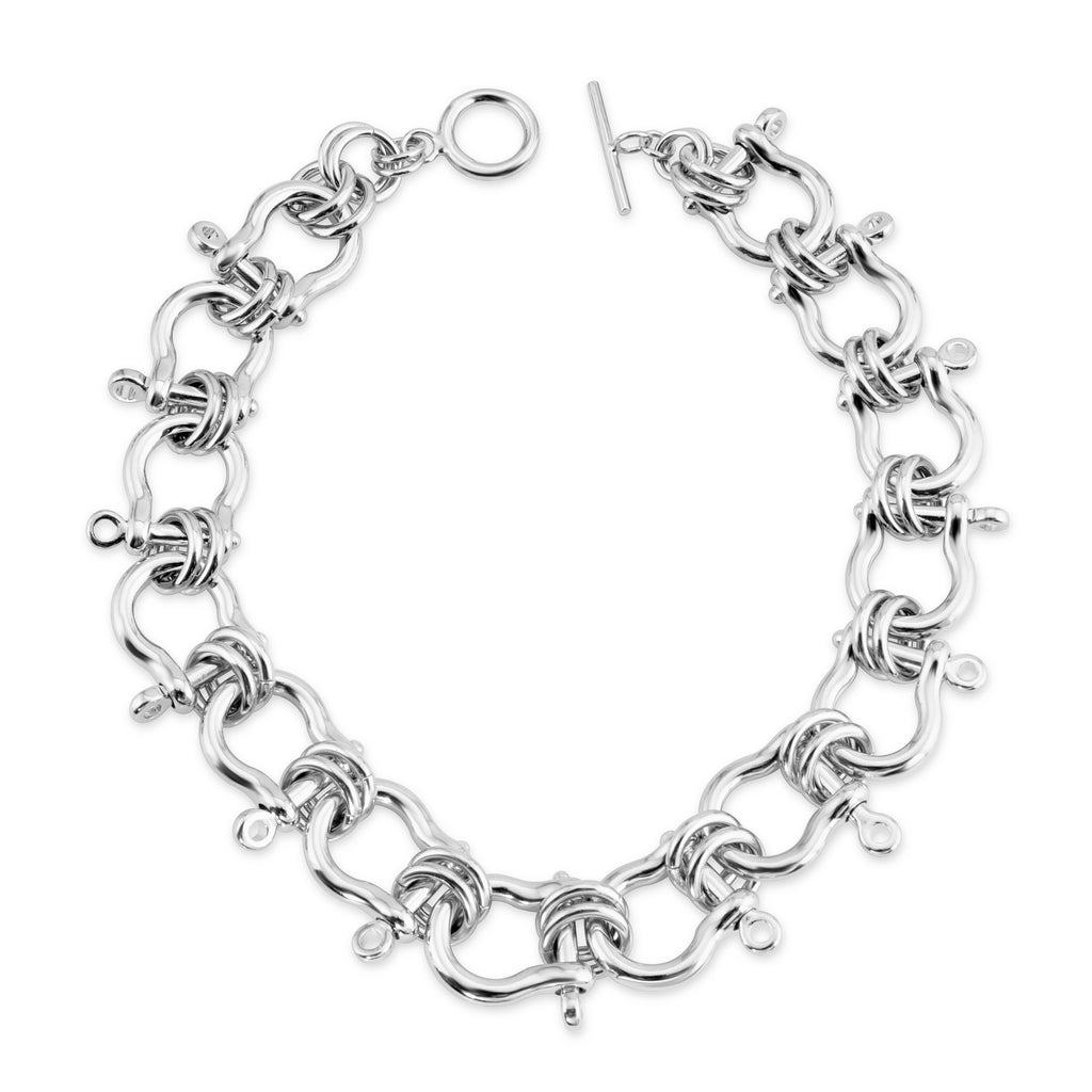 Silver Harrison Necklace