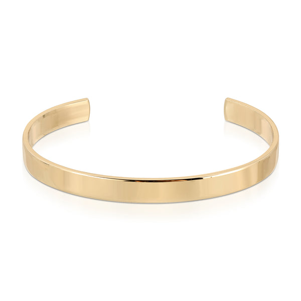 Men's 1/4 Inch Brass Cuff