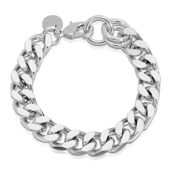 MEN'S CURB CHAIN BRACELET