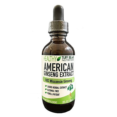 Tuff Bear American Wisconsin Ginseng Extract, 2FL oz