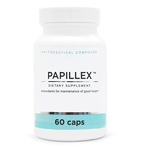 Dietary Supplement Tablets by Papillex | Natural Immune Support | 60 Capsule Bottle (Single Bottle)