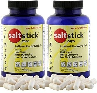 SaltStick Caps Electrolyte Replacement 100 count (200 Capsules)