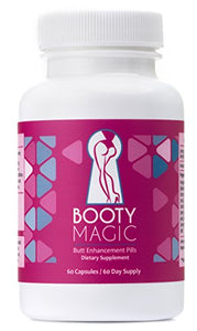 Booty Magic Ultra Butt Enhancement Pills - 2 Month Supply