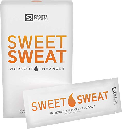 Sweet Sweat Coconut 'Workout Enhancer' Gel Packets - 10.6oz (20 Travel Packets)