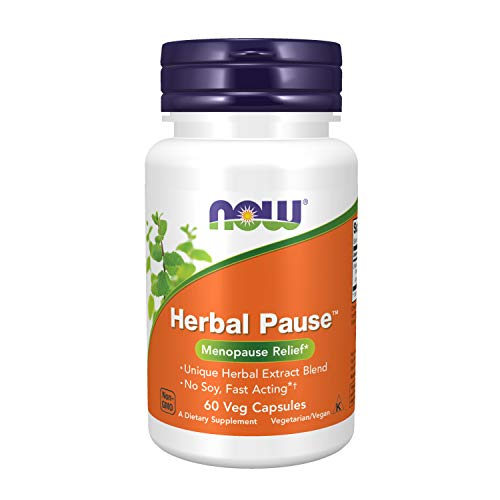 NOW Supplements, Herbal Pause with EstroG-100, (Patented Herbal Extract Blend), 60 Veg Capsules