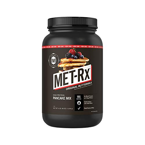 MET-Rx High Protein Pancake Mix, Original Buttermilk, 4 pound