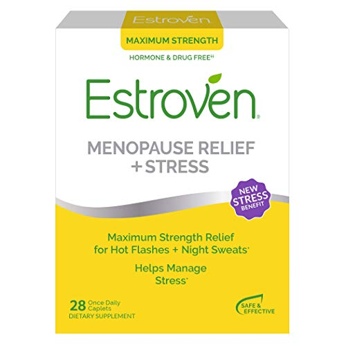 Estroven Max Strength Menopause Relief for Hot Flashes ...