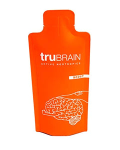 TruBrain Drinks – 1oz (30mL) Shot / Bottle, Box of 20 – Nootropic Brain Designed by Neuroscientists to Boost Mental Output & Improve Memory Nootropic Supplement