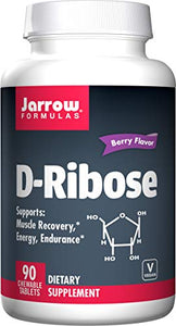 Jarrow Formulas Ribose, Supports: Muscle Recovery, Energy & Endurance, 90 Tablets