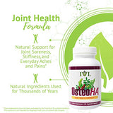 IVL OsteoHA Joint Health Formula Natural Joint Support Supplement, 120 Vegetable Capsules