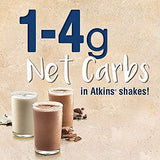 Atkins Meal Size Vanilla Cream Protein-Rich Shake. With High-Quality Protein. Keto-Friendly and Gluten Free. (12 Shakes)