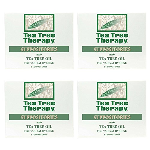 Tea Tree Suppository Tea Tree Therapy (4-Pack of 6)