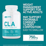 Optimum Nutrition CLA 750mg, Weight Management Support, 90 Softgels (Packaging May Vary)