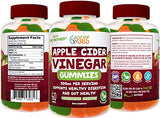 "Feel Great 365 Apple Cider Vinegar Gummies for Kids & Adults | Complete Natural Detox, Digestive Support, Appetite Suppressant Supplement* | Includes""The Mother"" for Gut Health & Immunity Support*"