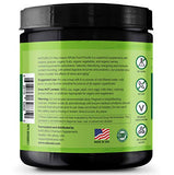 NATURELO Raw Greens Superfood Powder - Unsweetened - Boost Energy, Detox, Enhance Health - Organic Spirulina - Wheat Grass - Whole Food Vitamins from Fruit, Vegetable Extracts - 60 Servings