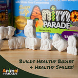 NaturesPlus Animal Parade Source of Life Tooth Fairy Children's Chewable - Natural Vanilla Flavor - 90 Animal Shaped Tablets - Dental Health Supplement - Vegetarian, Gluten-Free - 45 Servings