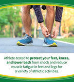Dr. Scholl's Sport Insoles (Pack of 2) // Superior Shock Absorption and Arch Support to Reduce Muscle Fatigue and Stress on Lower Body Joints (for Men's 8-14)