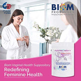 Biom Vaginal Probiotic Suppository: Natural Vaginal pH and Odor Control Regimen; Balance and Nourishes Vaginal Microbiome Against infections; No Parabens, Fragrance-Free (15)
