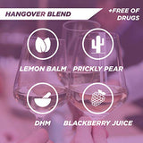Tru Rescue Shot - Natural Hangover Prevention Shot, Hangover Blend with DHM (4 Shots)