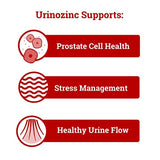 Urinozinc Classic Prostate Supplement, Doctor Recommended with Saw Palmetto, 500 Capsules