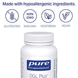 Pure Encapsulations - DGL Plus - Herbal Support for The Gastrointestinal Tract - 60 Capsules