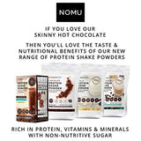 NOMU Skinny 60% Cocoa Hot Chocolate (33 servings) | 20 Calories only, Keto Diet Drink, Low GI, High Protein