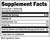 Nutricost Chlorella Powder 4oz - Pure Chlorella, 3000mg Per Serving, Non-GMO & Gluten Free