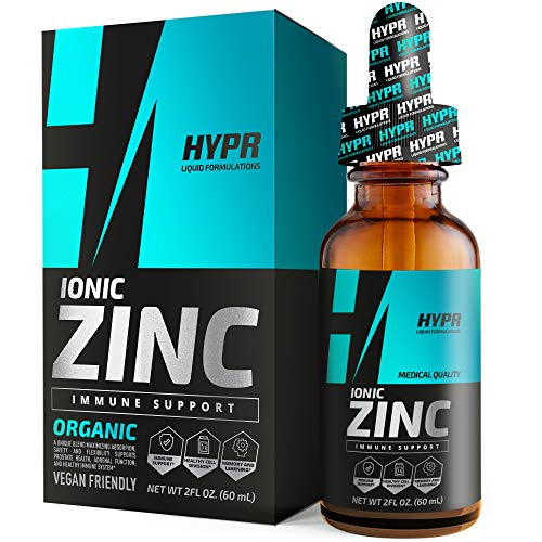 Zinc Supplement Liquid Drops Best Advanced Nano Zinc Liquid Vitamin Supplement for Immune Support + Energy. High Bioavailability Triple Distilled and Nanotized for Men and Women