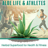 Aloe Life - Whole Leaf Aloe Vera Juice Concentrate, Certified Activator, Organic, Supports Healthy Digestion, Immune System and Overall Wellness (Cherry Berry, 16 Ounces)