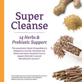 Super Cleanse by Nature's Secret | Herbal and Probiotic Support, 200 Tablets (Pack of 2)