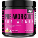 Nitric Oxide Boosting Pre Workout for Women (v2) - Breakthrough Energy Supplement with L Arginine | Non-GMO and Gluten-Free | Sheer Strength Labs, 30 Powder Servings