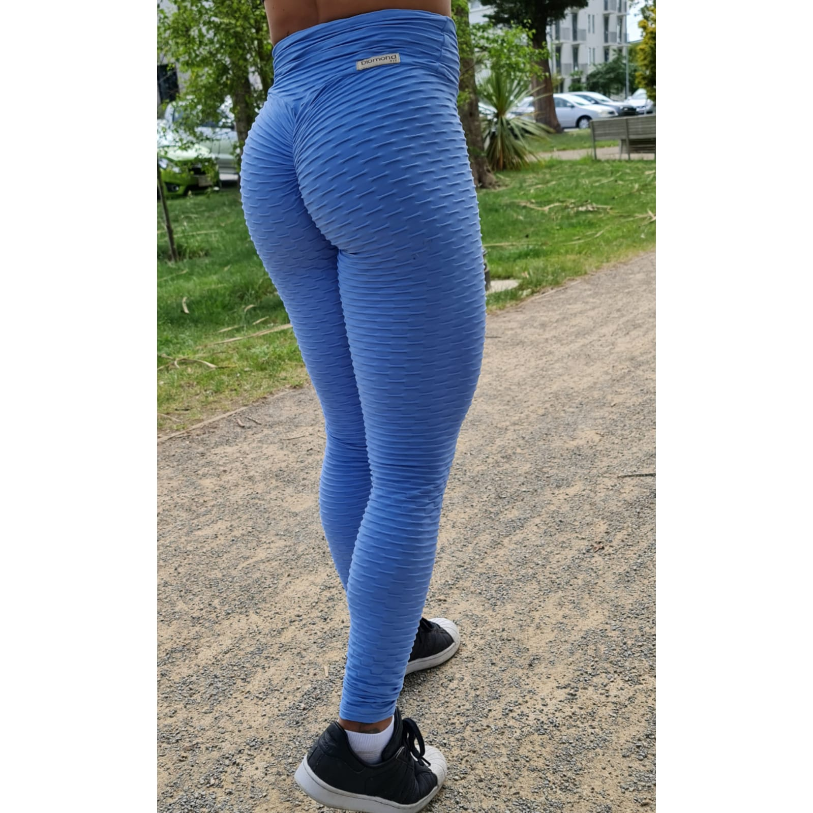 Sky Blue Leggings - Pretty Kiwis