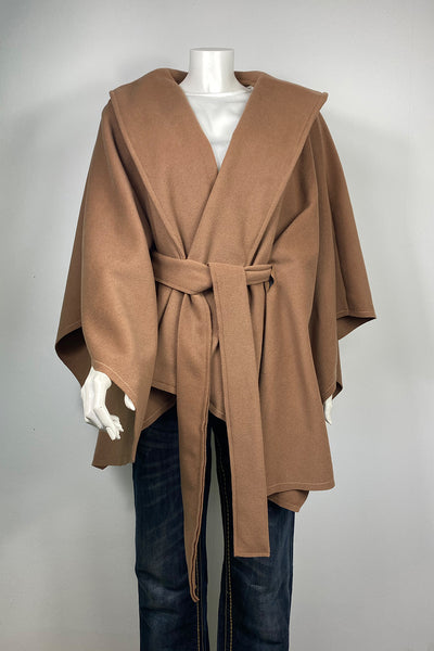 Edles Cape in Camel