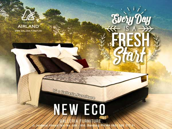 Harga Review Kasur Airland New Eco
